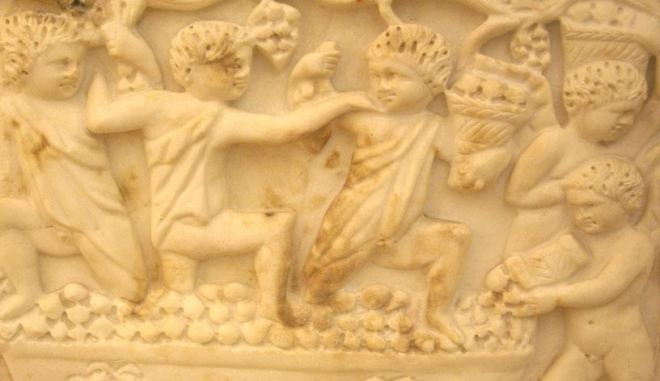 Roman Wine Frieze